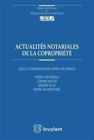 Actualités notariales de la copropriété - copertina