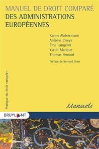 Manuel de droit comparé des administrations européennes - Librerie.coop