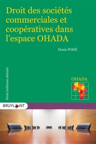 Droit des sociétés commerciales et coopératives dans l'espace OHADA - Librerie.coop