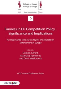 Fairness in EU Competition Policy : Significance and Implications - Librerie.coop
