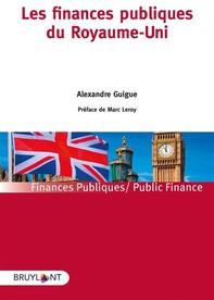 Les finances publiques du Royaume-Uni - Librerie.coop