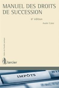 Manuel des droits de succession - Librerie.coop