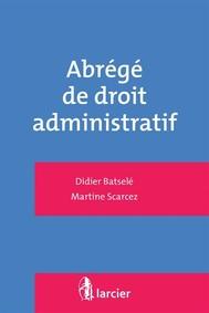 Abrégé de droit administratif - copertina