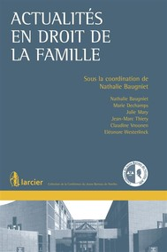 Actualités en droit de la famille - copertina