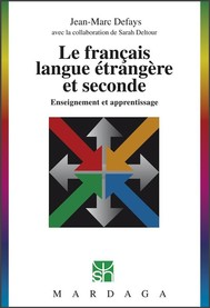 Le français, langue étrangère et seconde - copertina