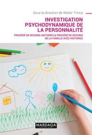 Investigation psychodynamique de la personnalité - copertina