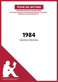 1984 de George Orwell (Fiche de lecture) - copertina