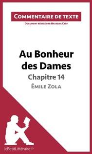 Au Bonheur des Dames de Zola - Chapitre 14 - copertina