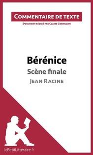 Bérénice de Racine - Scène finale - copertina