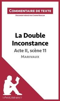 La Double Inconstance de Marivaux - Acte II, scène 11 - Librerie.coop