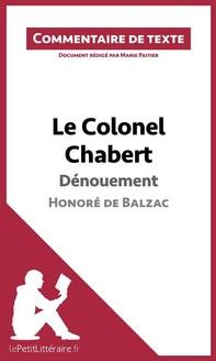 Le Colonel Chabert de Balzac - Dénouement - Librerie.coop