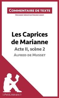 Les Caprices de Marianne de Musset - Acte II, scène 2 - Librerie.coop