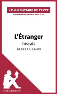 L'Étranger de Camus - Incipit - Librerie.coop