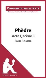 Phèdre de Racine - Acte I, scène 3 - Librerie.coop