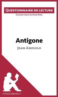 Antigone de Jean Anouilh - copertina
