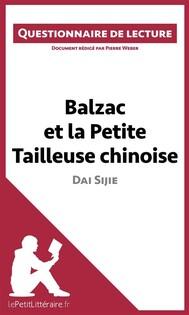 Balzac et la Petite Tailleuse chinoise de Dai Sijie - copertina
