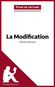 La Modification de Michel Butor (Fiche de lecture) - copertina