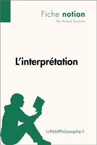L'interprétation (Fiche notion) - Librerie.coop