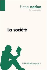 La société (Fiche notion) - copertina