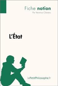 L'État (Fiche notion) - copertina