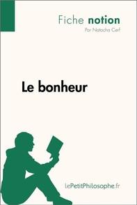 Le bonheur (Fiche notion) - Librerie.coop