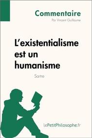 L'existentialisme est un humanisme de Sartre (Commentaire) - copertina