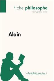 Alain (Fiche philosophe)  - copertina