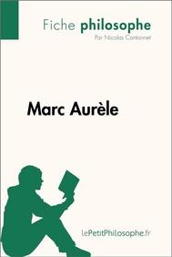 Marc Aurèle (Fiche philosophe)  - copertina