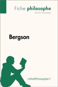 Bergson (Fiche philosophe)  - copertina