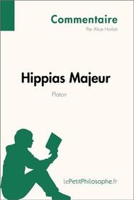 Hippias Majeur de Platon (Commentaire) - copertina