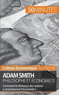 Adam Smith philosophe et économiste - Librerie.coop