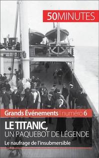 Le Titanic, un paquebot de légende - Librerie.coop