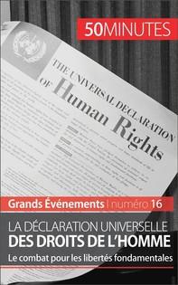 La Déclaration universelle des droits de l'homme - Librerie.coop