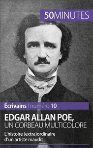 Edgar Allan Poe, un corbeau multicolore - copertina
