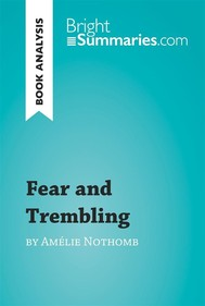 Fear and Trembling by Amélie Nothomb (Book Analysis) - copertina