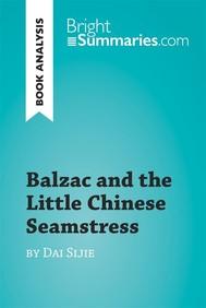Balzac and the Little Chinese Seamstress by Dai Sijie (Book Analysis) - copertina