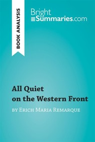 All Quiet on the Western Front by Erich Maria Remarque (Book Analysis) - copertina