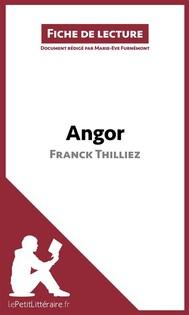 Angor de Franck Thilliez (Fiche de lecture) - copertina