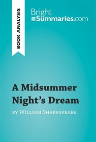 A Midsummer Night's Dream by William Shakespeare (Book Analysis) - copertina