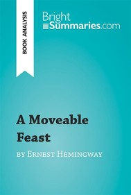 A Moveable Feast by Ernest Hemingway (Book Analysis) - copertina