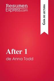 After 1 de Anna Todd (Guía de lectura) - copertina