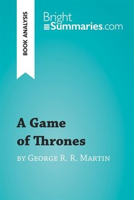 A Game of Thrones by George R. R. Martin (Book Analysis) - copertina
