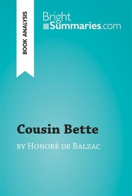 Cousin Bette by Honoré de Balzac (Book Analysis) - copertina