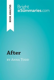 After by Anna Todd (Book Analysis) - copertina