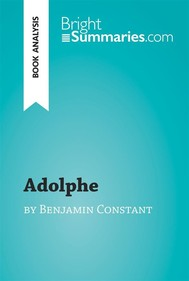 Adolphe by Benjamin Constant (Book Analysis) - copertina