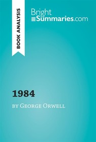 1984 by George Orwell (Book Analysis) - copertina
