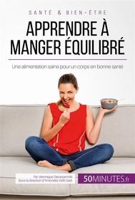 Apprendre à manger équilibré - copertina