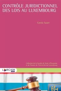 Contrôle juridictionnel des lois au Luxembourg - Librerie.coop