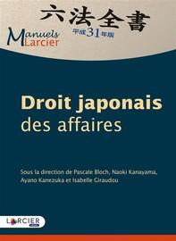 Droit japonais des affaires - Librerie.coop