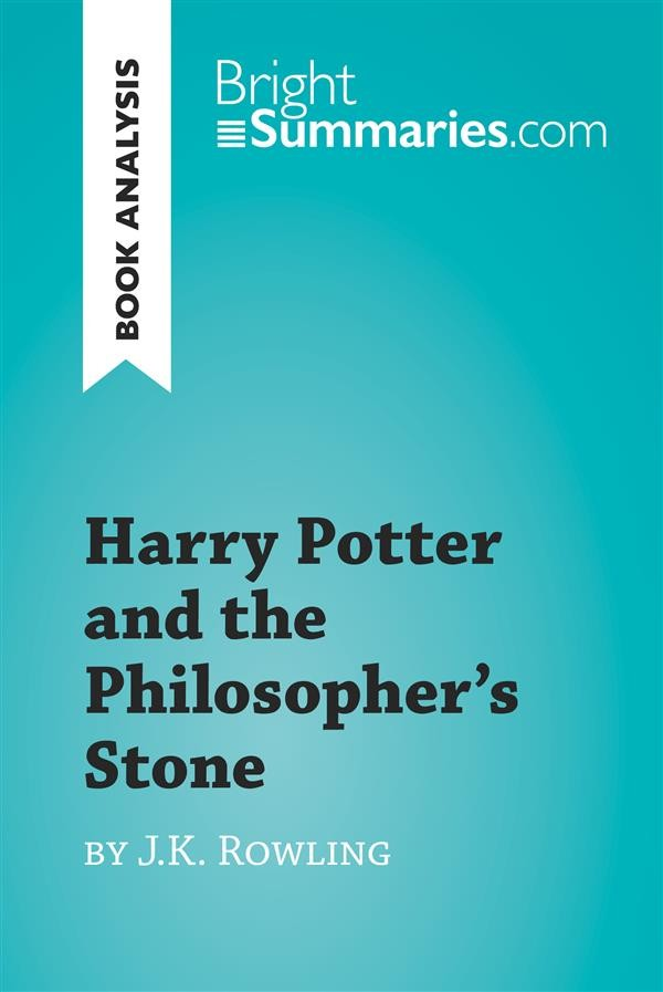 a book analysis of j k rowlings harry potter and the philosophers stone Harry potter and the philosopher's stone by j k rowling is a book that takes  ( two books in the trilogy so far (mentor yourself: book review.